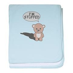Teddy Stuffed baby blanket