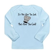 How You Cook Long Sleeve Infant T-Shirt