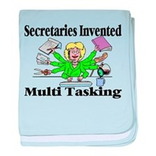 Secretaries Multi Task baby blanket