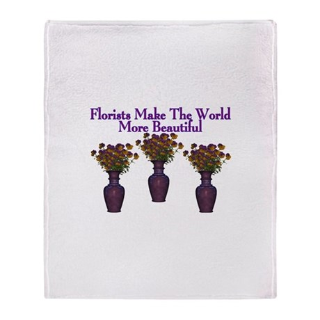 Florists Throw Blanket