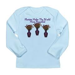Florists Long Sleeve Infant T-Shirt