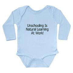 Unschooling Long Sleeve Infant Bodysuit