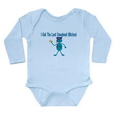 Last Doughnut Long Sleeve Infant Bodysuit