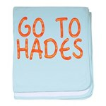 Go To Hades baby blanket