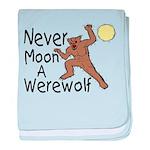 Moon A Werewolf baby blanket