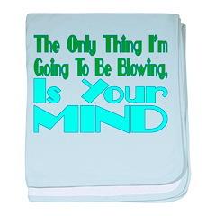Blow Your Mind baby blanket