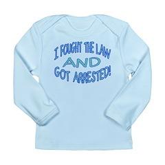 Law Won Long Sleeve Infant T-Shirt