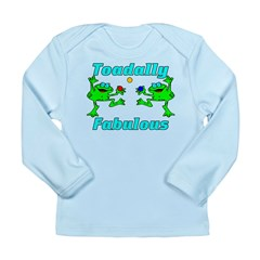 Toadally Fabulous Long Sleeve Infant T-Shirt
