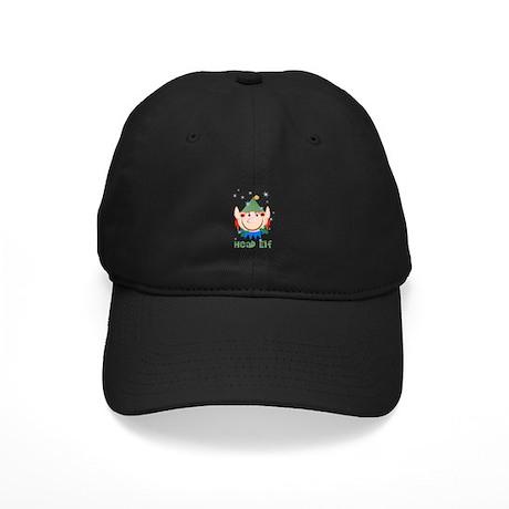 Head Elf Black Cap