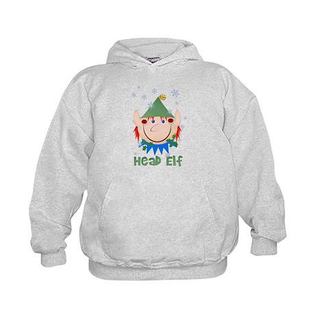Head Elf Kids Hoodie