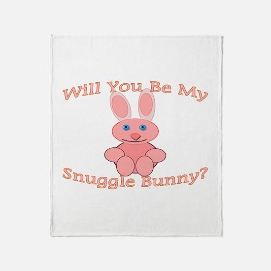 Snuggle Bunny Throw Blanket