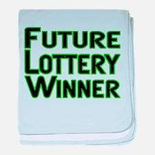 Future Lottery Winner baby blanket