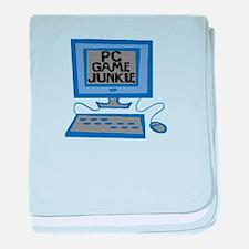 Game Junkie baby blanket