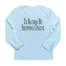 Rather Shop Online Long Sleeve Infant T-Shirt