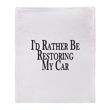 Rather Restore Car Throw Blanket