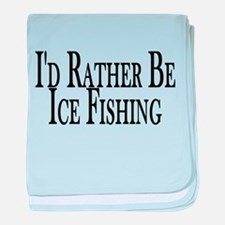 Rather Ice Fish baby blanket
