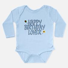 Happy Birthday Lover Long Sleeve Infant Bodysuit