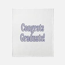 Congrats Graduate! Throw Blanket