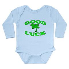 Good Luck Long Sleeve Infant Bodysuit