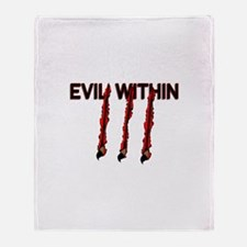 Evil Within Throw Blanket