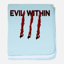 Evil Within baby blanket