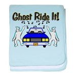Ghost Ride It baby blanket