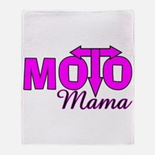 Moto Mama Throw Blanket