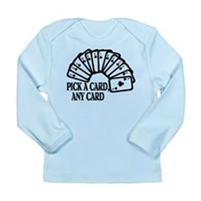 Pick A Card Long Sleeve Infant T-Shirt