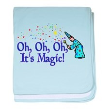 It's Magic baby blanket