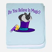 Believe In Magic baby blanket