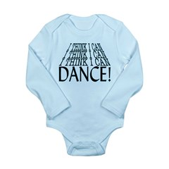 I Can Dance Long Sleeve Infant Bodysuit