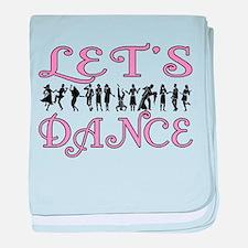 Let's Dance baby blanket