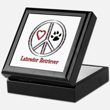 Peace Love Lab Keepsake Box