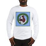 Christmas Cocker Spaniel Long Sleeve T-Shirt