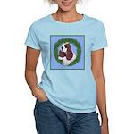 Christmas Cocker Spaniel Women's Light T-Shirt