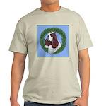 Christmas Cocker Spaniel Light T-Shirt