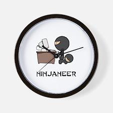 Cool Ninja Wall Clock