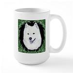 Christmas Samoyed Large Mug