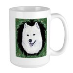 Christmas Samoyed Large Mug