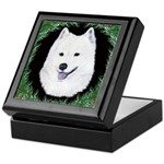 Christmas Samoyed Keepsake Box