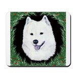 Christmas Samoyed Mousepad