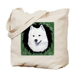 Christmas Samoyed Tote Bag
