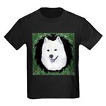 Christmas Samoyed Kids Dark T-Shirt