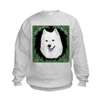 Christmas Samoyed Kids Sweatshirt