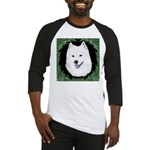Christmas Samoyed Baseball Jersey