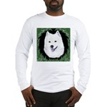 Christmas Samoyed Long Sleeve T-Shirt