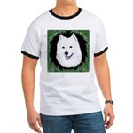 Christmas Samoyed Ringer T