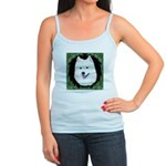 Christmas Samoyed Jr. Spaghetti Tank