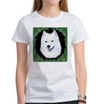 Christmas Samoyed Women's T-Shirt