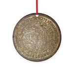 Original Meter Cover Ornament (Round)